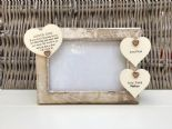 Shabby personalised Chic Photo Frame Auntie Aunty Great Aunt Any Name Present